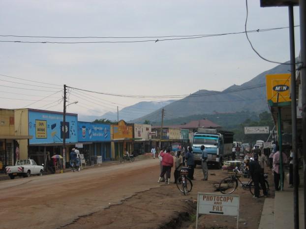 Kasese, Oeganda. Foto Wikimedia Commons / Karamell