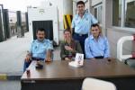 Tussen de Turkse douane aan de grens met Irak. Foto Jessica Maas