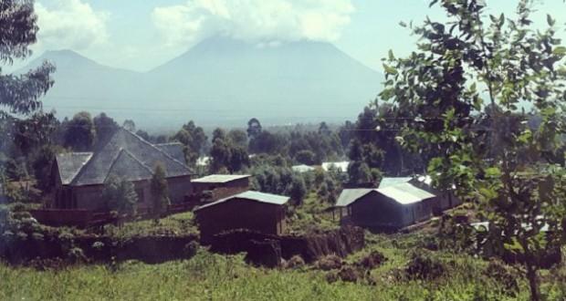 Vulkanen in Rwanda. Foto Saskia Houttuin