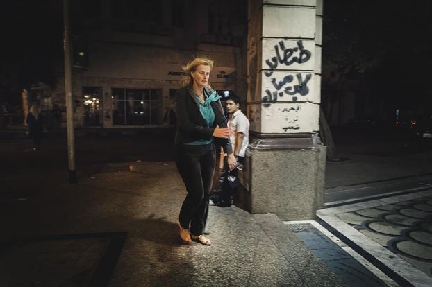Rena Netjes in Cairo. Foto Alexander Schippers.