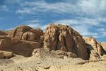 De Sinaïwoestijn in Egypte. Foto Marc Ryckaert