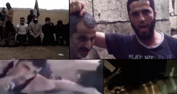 De media-oorlog in Syrië. Foto screenshot Al Jazeera