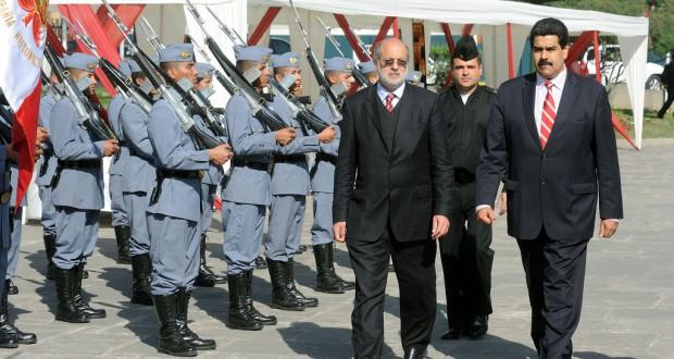 Nicolas Maduro (rechts) op staatsbezoek in Peru, 2011. Foto Congreso de la República del Perú / Wikimedia Commons