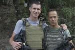 Tim Hetherington en Sebastian Junger. Foto screenshot Which Way Is The Front Line From Here? / YouTube