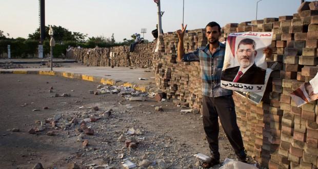 De zitstaking bij Nasr City | Foto: Ester Meerman