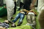 Lijken in een Egyptisch veldhospitaal | Foto: Ester Meerman