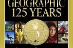 Cover van jubileumnummer National Geographic 125 jaar