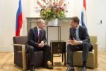 Rutte spreekt Poetin in Scheepvaartmuseum. Foto Flickr Minister-president Rutte