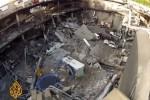 Verwoest deel van de Westgate Mall in Nairobi. Foto screenshot Al Jazeera