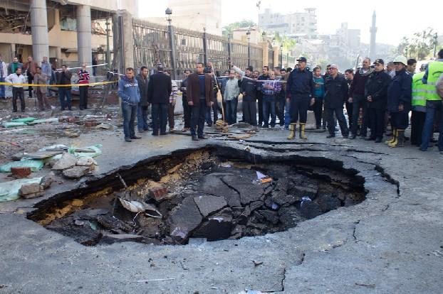 Bomaanslag in Cairo | Foto: Ester Meerman