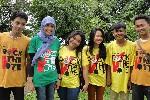 Rock the Vote op campus University of Indonesia. Foto Lindy Peijnenburg