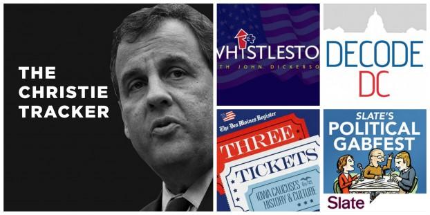 Verenigde Staten, podcasts, politiek, The Christie Tracker, Decode DC, Three Tickets, Gabfest, Whistle Stop, Slate, media, correspondent
