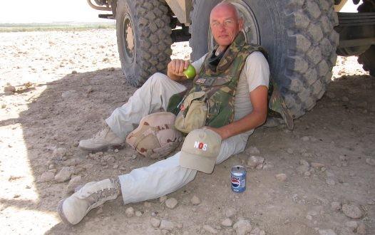 Peter ter Velde in Afghanistan.